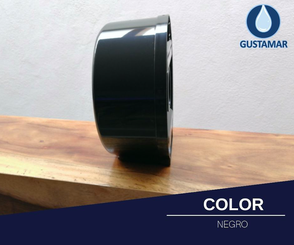 COLOR DEL DESPACHADOR DE PAPEL HIGIÉNICO JOFEL MINI BLACK - NEGRO AE57600