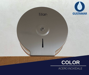 COLOR DEL DESPACHADOR DE PAPEL HIGIÉNICO TITAN MINI ACERO INOXIDABLE