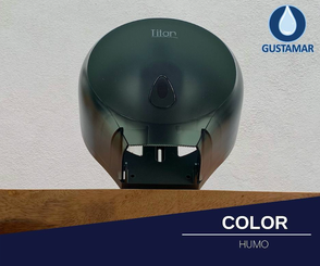 COLOR DEL DESPACHADOR DE PAPEL HIGIÉNICO TITAN MINI HUMO 8002F