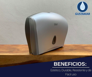 BENEFICIOS DEL DISPENSADOR DE PAPEL HIGIÉNICO DOBLE TITAN 8003S