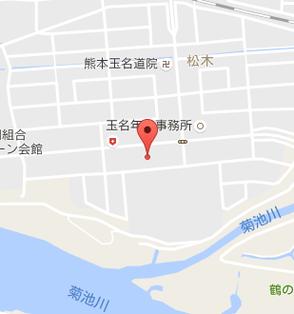 ほらふき亭 玉名店地図