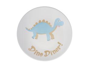 assiette dinosaure enfant Nara Porcelaine