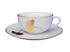 tasse de thé Ginkgo nara porcelaine