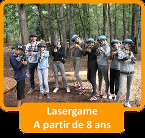 Saumur Forest Aventures Lasergame