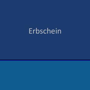 Erbschein - Erbrecht | Hildesheim