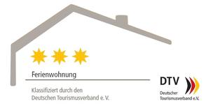 3-Sterne-Klassifizierung der Ferienwohnung Saarwiesen in Merzig durch den Deutschen Tourismusverband
