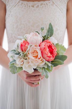 Bouquet de fleurs en soie