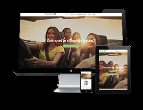 Website voor Rijschool Eindhoven