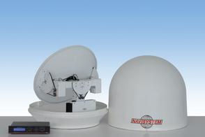 navisystem antenna satellitare HT4 marine satellite tv nautica yacht imbarcazione ship vessel  sat television televisione