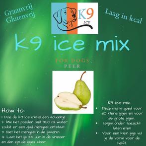 K9 ice mix peer hondenijs