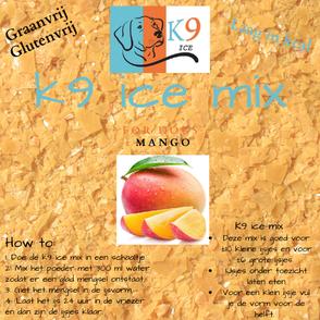 K9 Ice Mix hondenijs mango