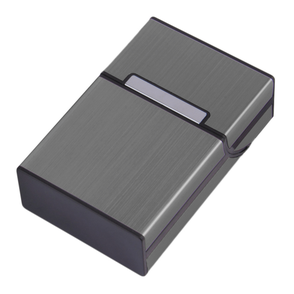 Personalisierte Zigarettenbox dank Lasergravur