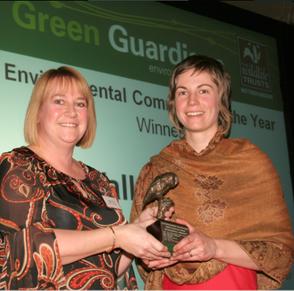 Ecominds win Green Guardians Award - 2011