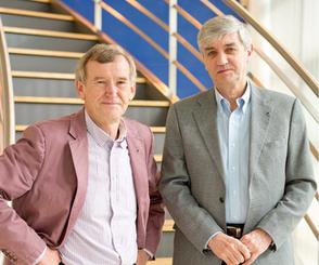 共同創業者 アラン・ブースロイドとボブ・スチュアート