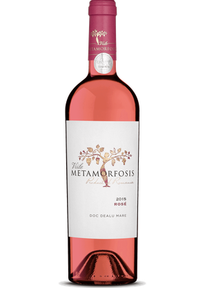 Viile Metamorfosis  Rosé - Cuvee (Merlot, Schwarze Mädchentraube, Pinot Noir) 2019