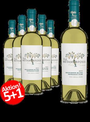 6-er Weinpaket | Viile Metamorfosis Feteasca Alba & Sauvignon Blanc 2017