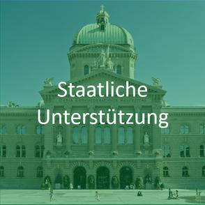 staatliche unterstützung bundeshaus schweiz