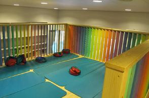 Zwischenboden für Raumgewinn im Kindergarten