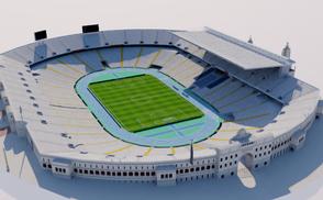 Estadi Olimpic Lluis Companys - Barcelona futbol football soccer rugby world cup spain catalunya