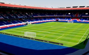 Parc des Princes - Paris psg europe stadium stadion estadio neymar cavani uefa champions league app mobile 3d reality