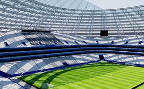Cosmos Arena - Samara russia 2018 world cup football soccer futbol worldcup rusia
