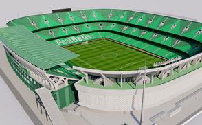 Estadio Benito Villamarín - Sevilla la liga santander spain sevilla real betis balompie futbol football soccer