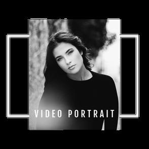vidéo portrait femme comédienne artiste