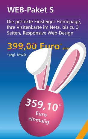 Web-Paket S - Osterangebot