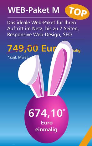 Web-Paket M  - Osterangebot
