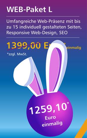 Web-Paket L - Osterangebot