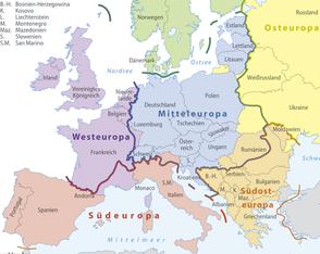 Zuständige Ansprechpartner nach Länder-Relation!