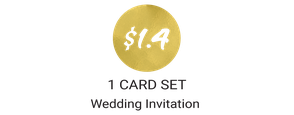 cheap wedding invitations package