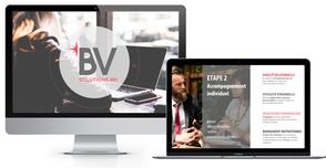 création présentation powerpoint pour BV solutions rh