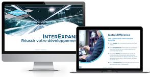 création présentation powerpoint pour InterExpand