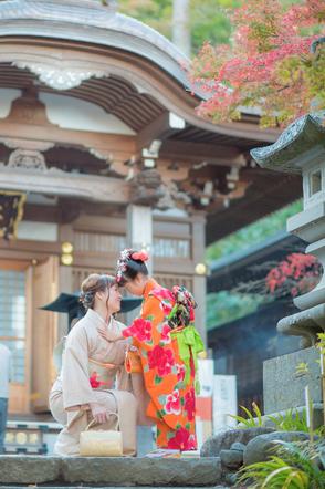 七五三撮影 出張カメラマン 出張撮影 7歳七五三 東京 深大寺 家族写真 ロケーションフォト 七五三