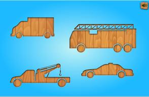 klik+sleep + klik het voertuig op de juiste plaats