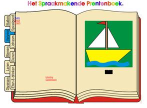 gesproken prentenboek