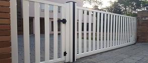 Porta cancela de PVC