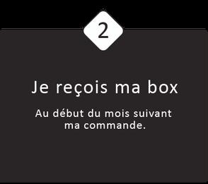 2 : Je reçois ma box