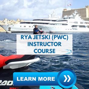 yacht crew training rya jetski instructor course