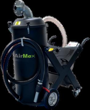 Industriesauger AirMex Öl- und Spänesauger Ölsauger Kühlschmiermittel CNC