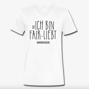 Greenbecauseican Ich bin fairliebt White