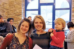 Fanny et Manon Bernier, lauréate du prix 2015.