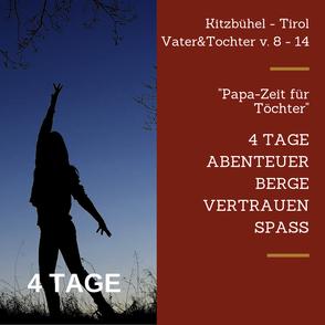 Urlaub Vater Sohn Wochenende Tirol Kitzbühel Durchhalten Emotionen Freude Erinnerung Vater Sohn Männers