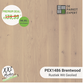 PEX1486 Brentwood Rustiek Wit Geolied