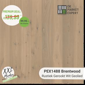 PEX1488 Brentwood Rustiek Gerookt Wit Geolied