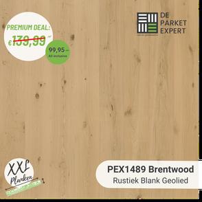 PEX1489 Brentwood Rustiek Blank Geolied