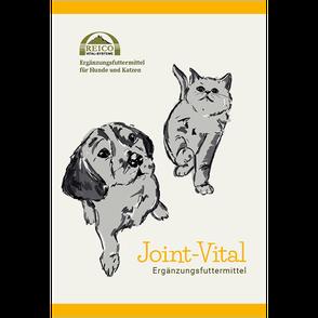 Joint-Vital ist eine Mischung aus Muschelfleisch, Algen, Wildlachs, Vitaminen, Kräutern und CBD-Öl, die gezielt für die Erhaltung des gesamten Bewegungsapparats für Hunde und Katzen entwickelt wurde.