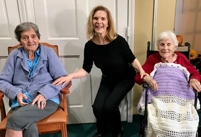 Chair Dance Aerobics at a Memory Care Center