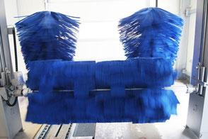Poliertrockner aus Spezialtextil
